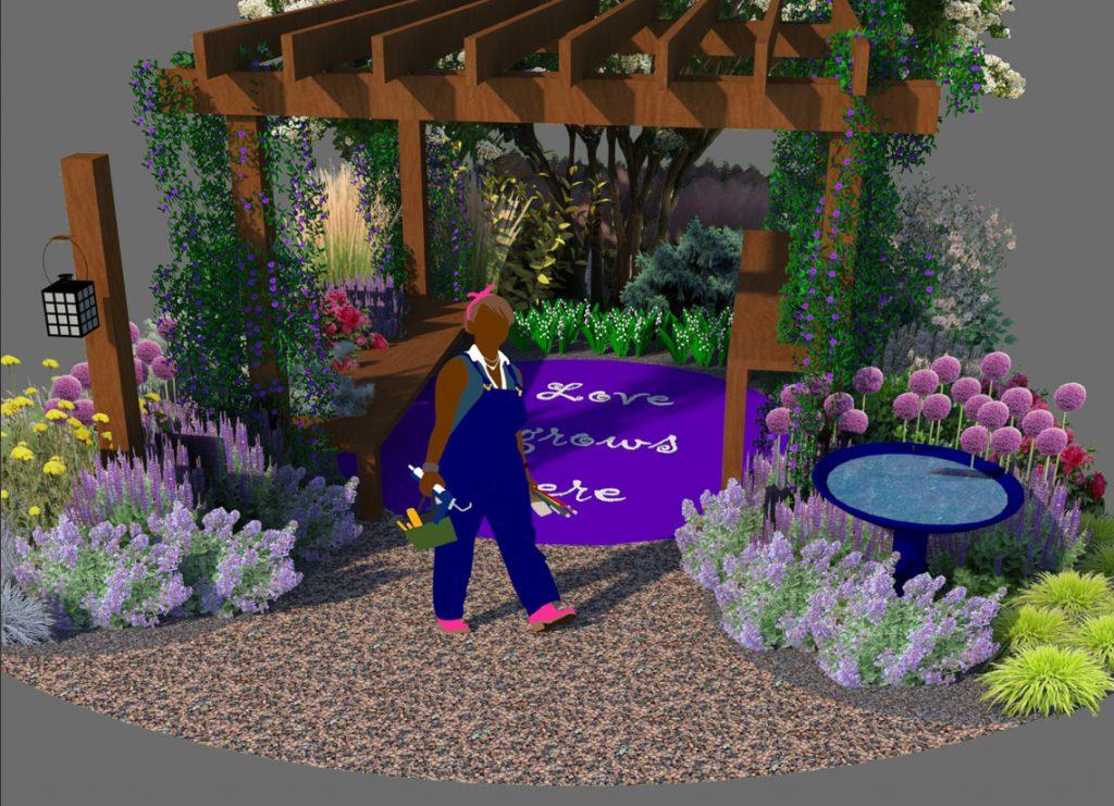 Hada Flowers Memorial Garden