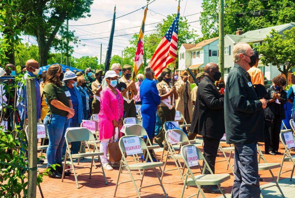 City of District Heights Veterans' Memorial Park